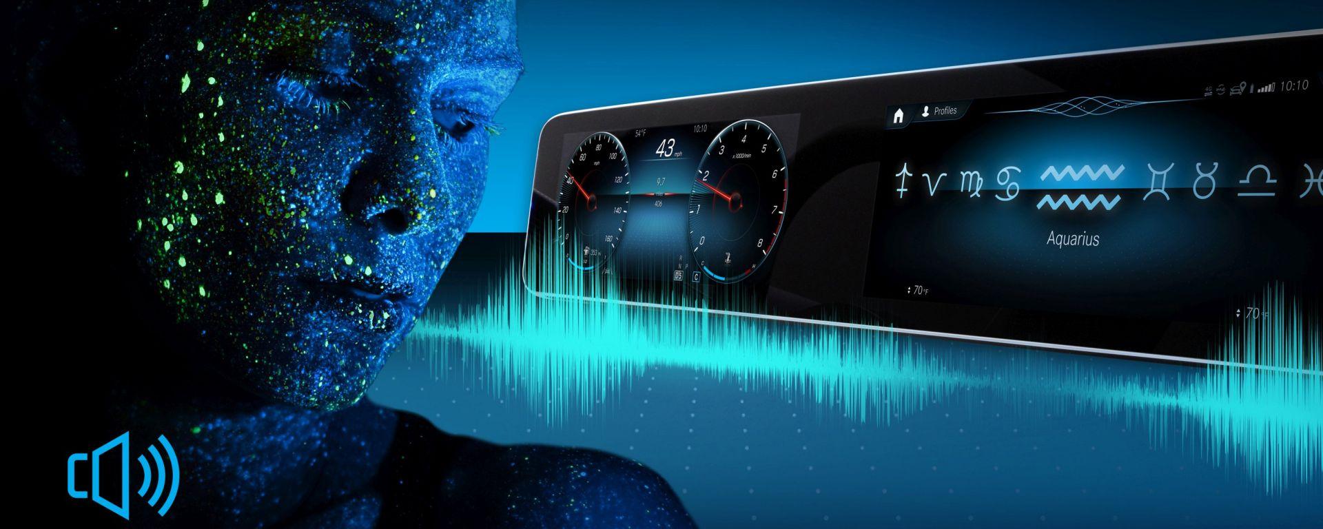 MBUX, l'infotainment di Mercedes legge oroscopo e quiz