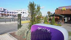 McDonald's ed Enel X: accordo per la ricarica al ristorante