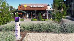 McDonald's ed Enel X per la ricarica
