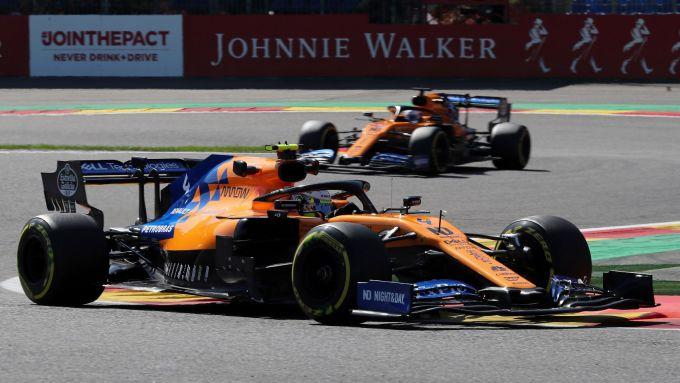 McLaren 2019, Lando Norris vs Carlos Sainz