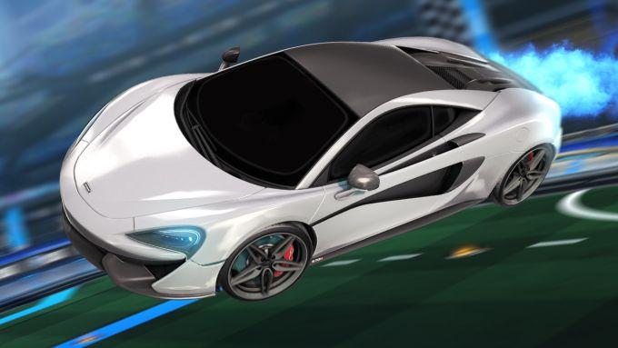 McLaren 570S in Rocket League