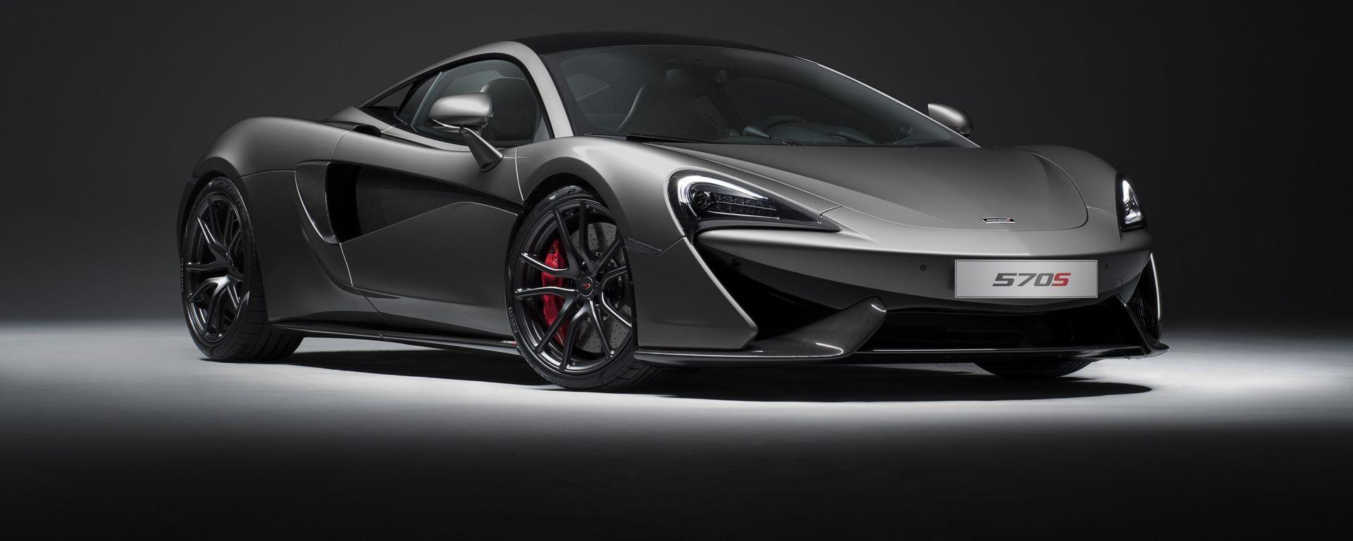 McLaren 570S: la coupé inglese ora disponibile con Track Pack