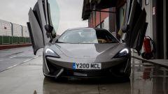 McLaren 570S, luci a led