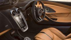 McLaren 570S Spider: la plancia