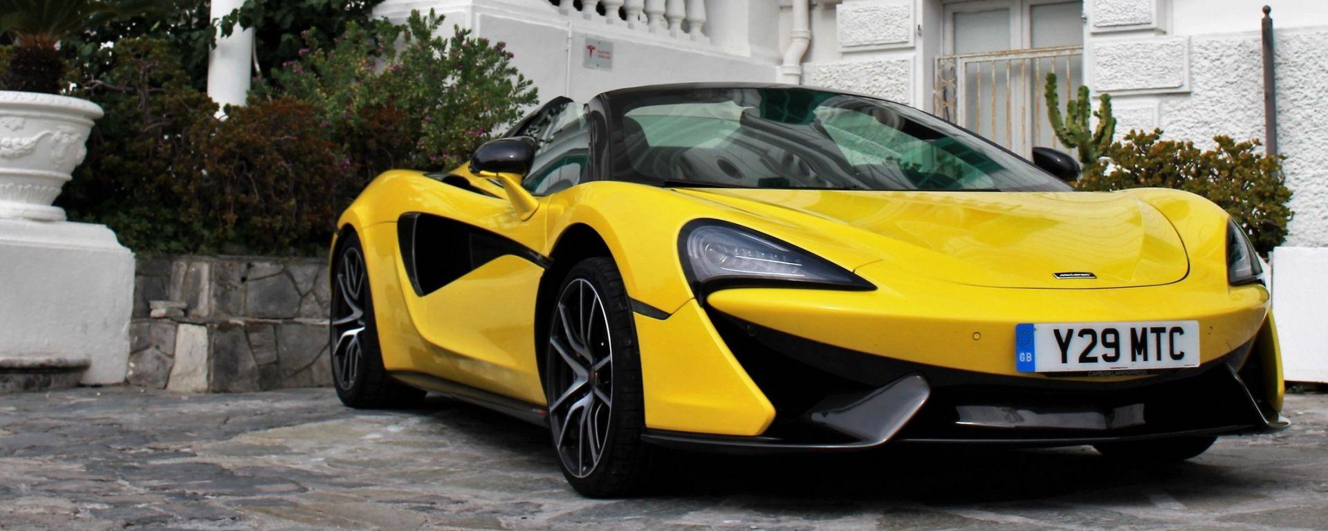 McLaren 570S Spider: un sogno a cielo aperto su quattro ruote
