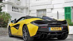 McLaren 570S Spider: un sogno a cielo aperto su quattro ruote - Immagine: 17