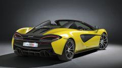 McLaren 570S Spider: un sogno a cielo aperto su quattro ruote - Immagine: 26