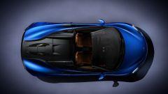 McLaren 570S Spider: vista dall'alto