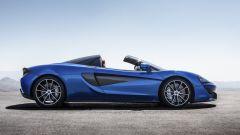 McLaren 570S Spider: vista laterale