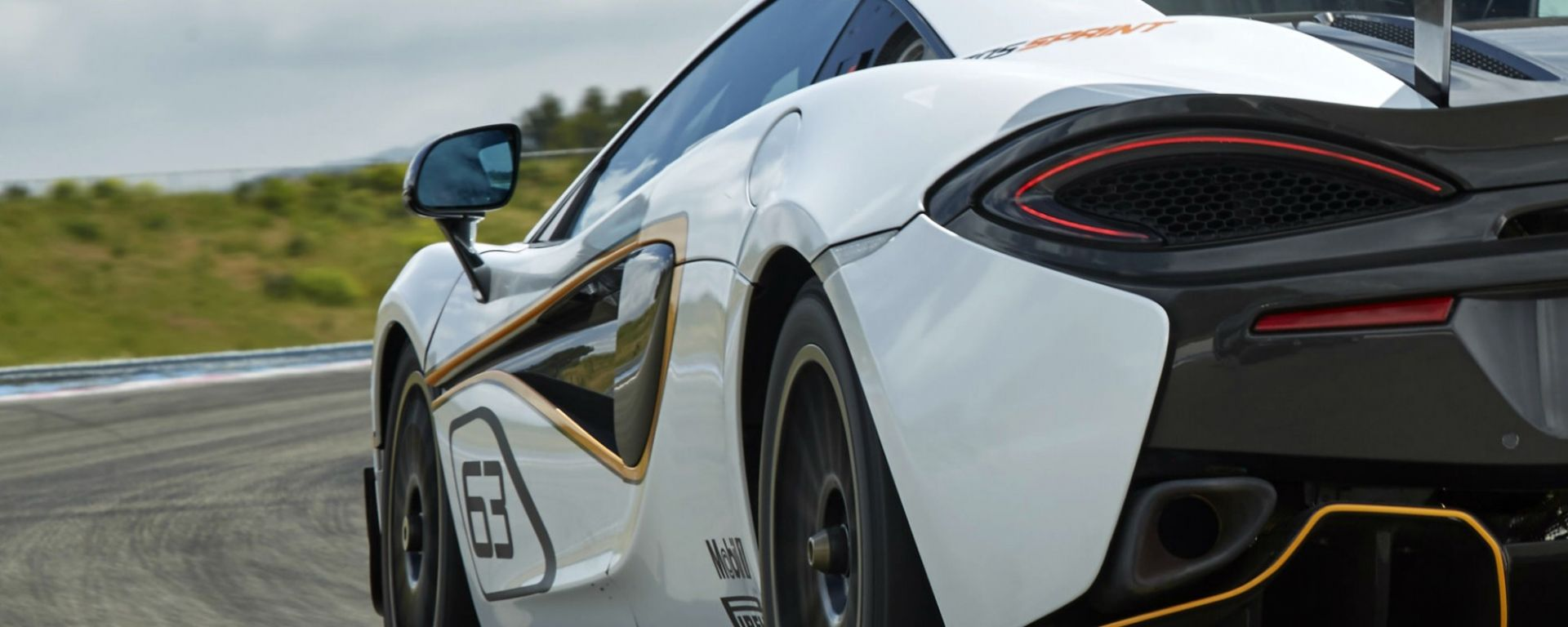 McLaren 570S Sprint: debutto al Goodwood Festival of Speed