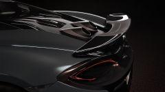 McLaren 600 LT: l'alettone in fibra di carbonio