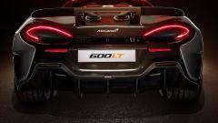 McLaren 600 LT: pesa circa un quintale meno di una 570 S