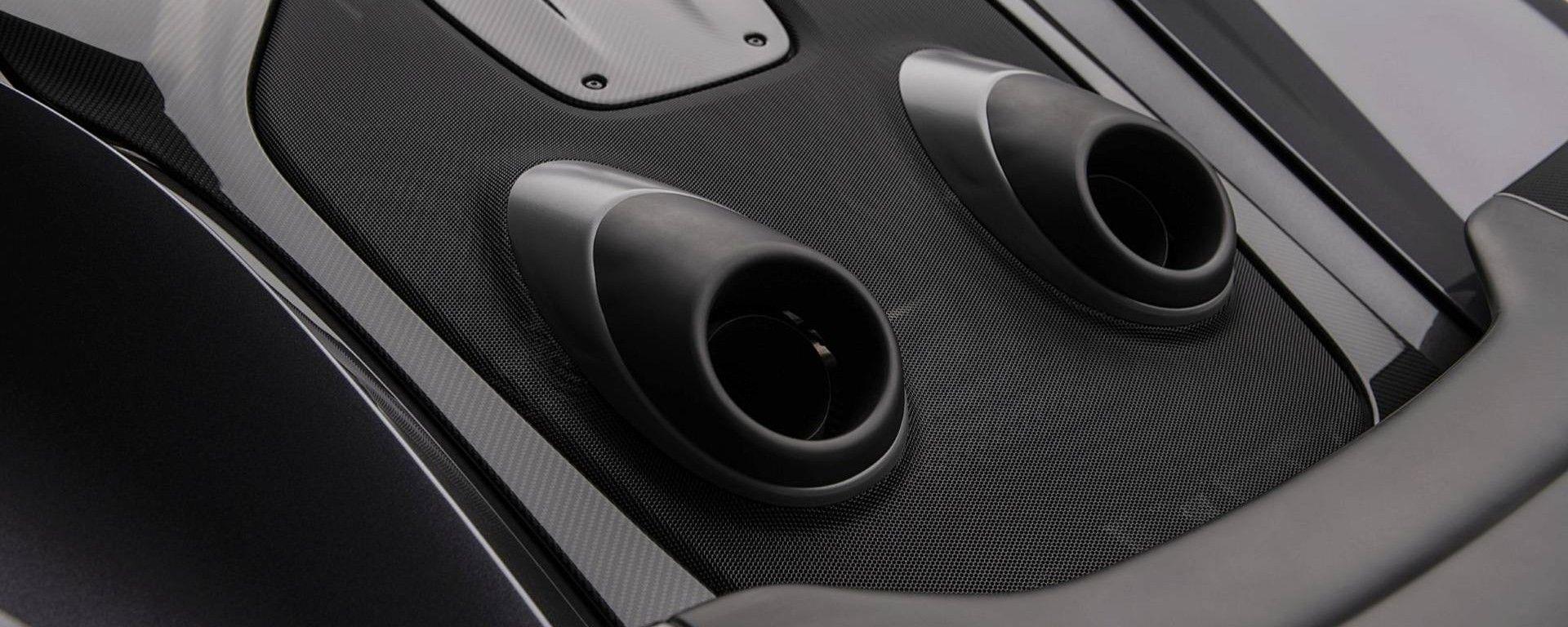 McLaren 600LT by MSO: gli scarichi