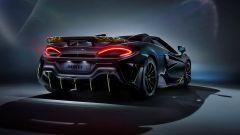 McLaren 600LT Segestria Borealis POSTERIORE
