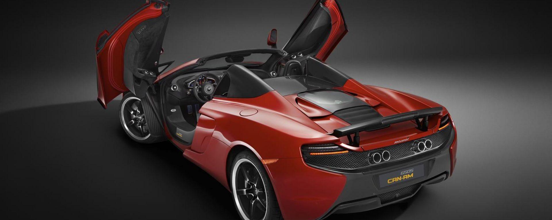 novità auto: mclaren 650s spider can-am - motorbox