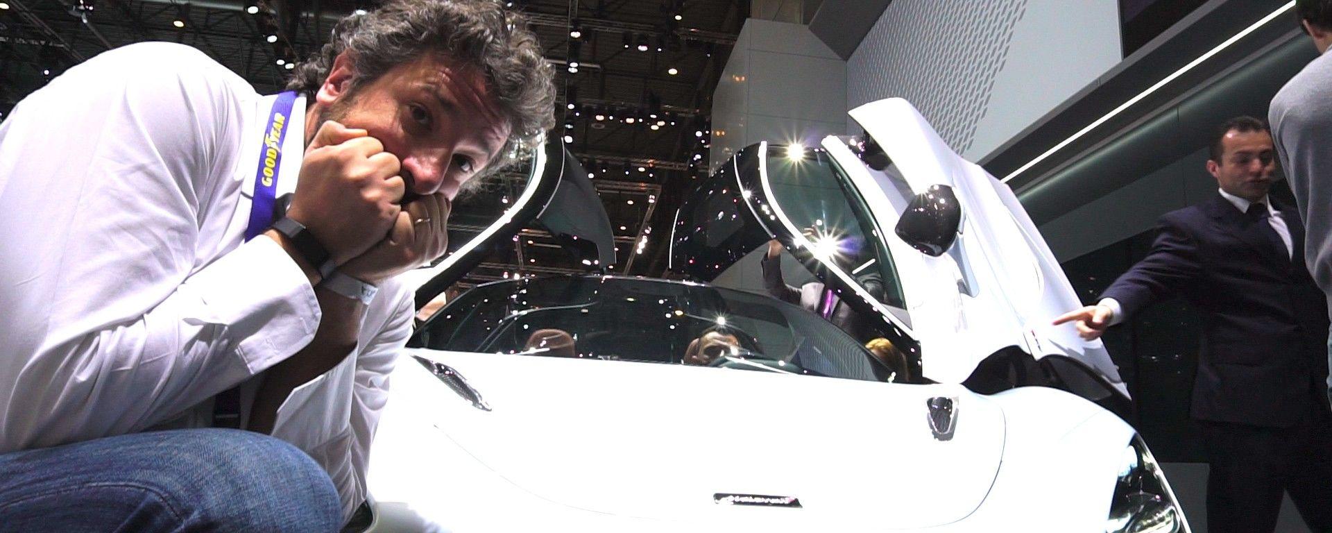 Mclaren 720S: in video dal Salone di Ginevra 2017