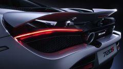 McLaren 720S particolare degli scarichi