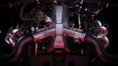 McLaren 720S particolare del motore