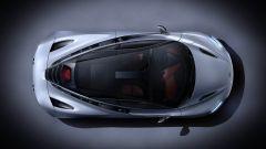McLaren 720S vista dall'alto