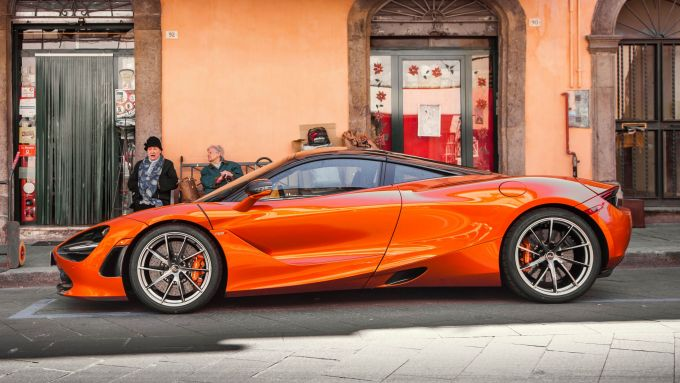 McLaren a MIMO 2021: la McLaren 720S Coupé