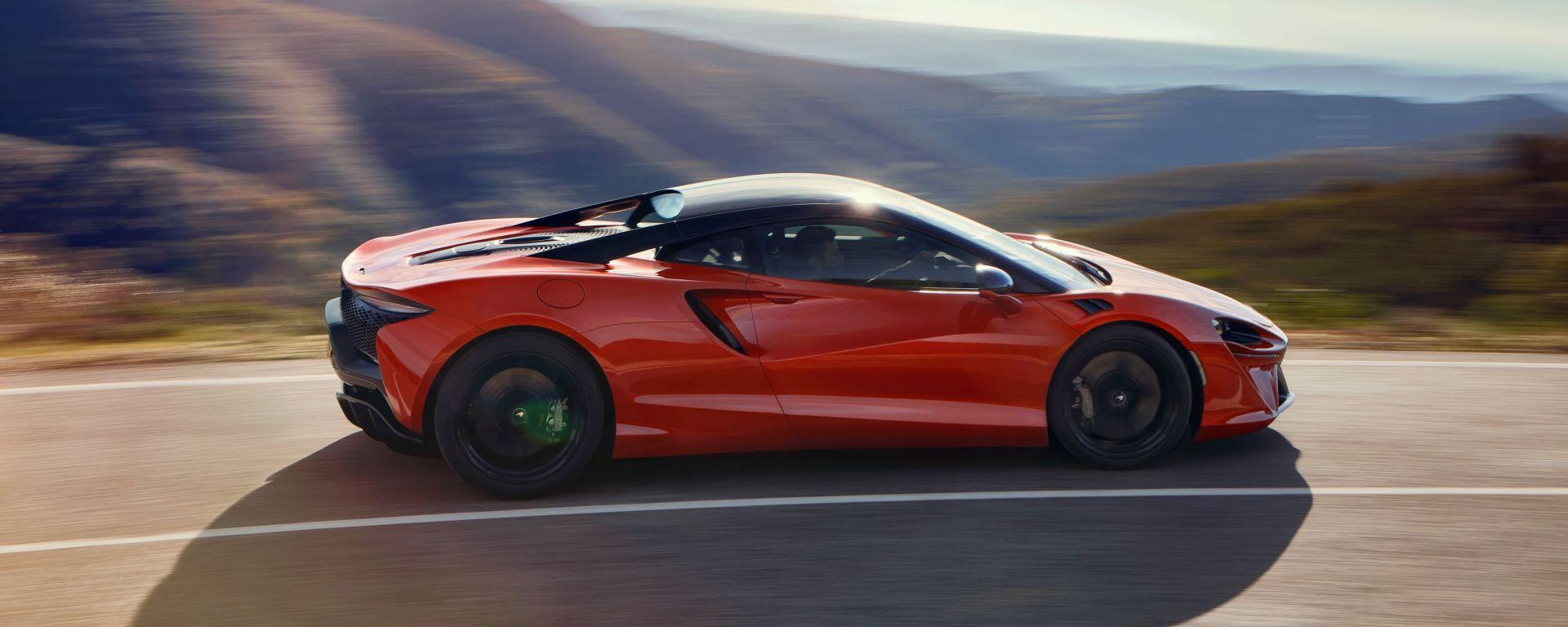 McLaren a MIMO 2021: la McLaren Artura