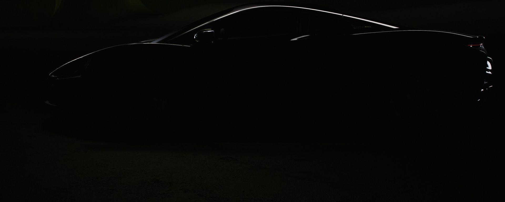 Nuova McLaren Artura Hybrid: il teaser anticipa la presentazione