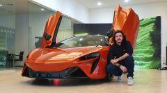 McLaren Artura: il mix tra arte e futuro in video - Immagine: 2