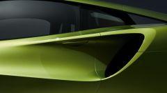 McLaren Artura: l'enorme presa d'aria laterale