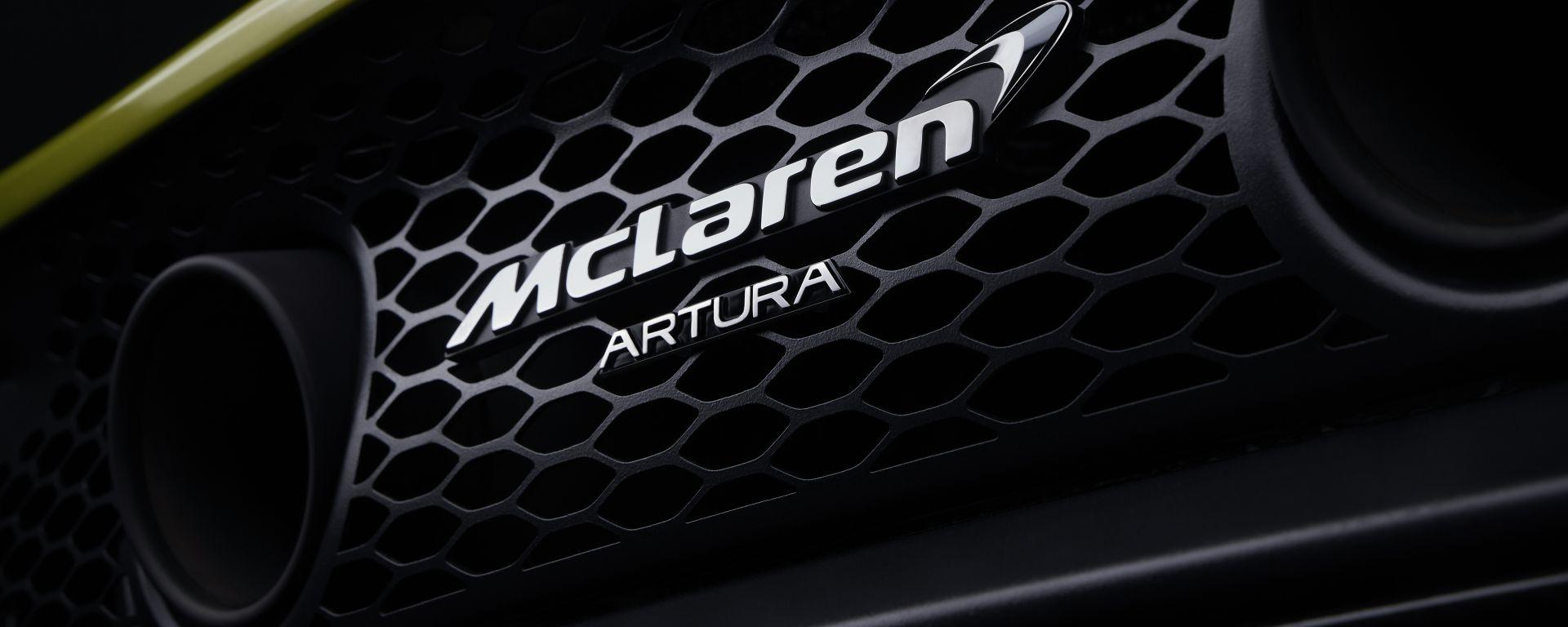 McLaren Artura, primo teaser