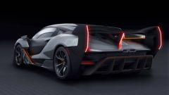 McLaren BC-03: vista 3/4 posteriore
