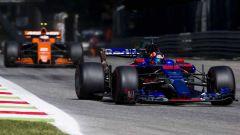 McLaren e Toro Rosso in battaglia