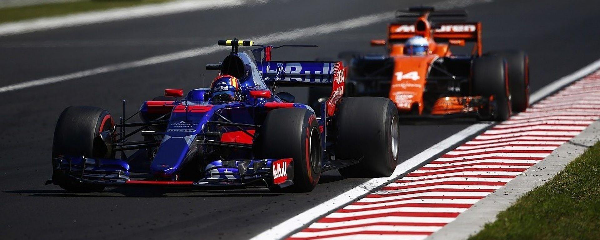 McLaren e Toro Rosso nel 2018