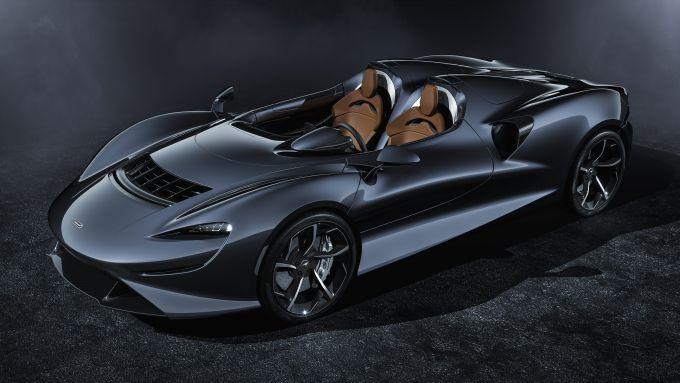 McLaren Elva, gli esterni