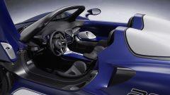 McLaren Elva: il posto di guida