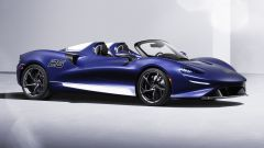 McLaren Elva, la supercar inglese monta il parabrezza