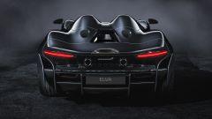 McLaren Elva, vista posteriore