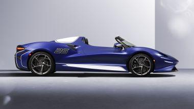McLaren Elva: visuale laterale