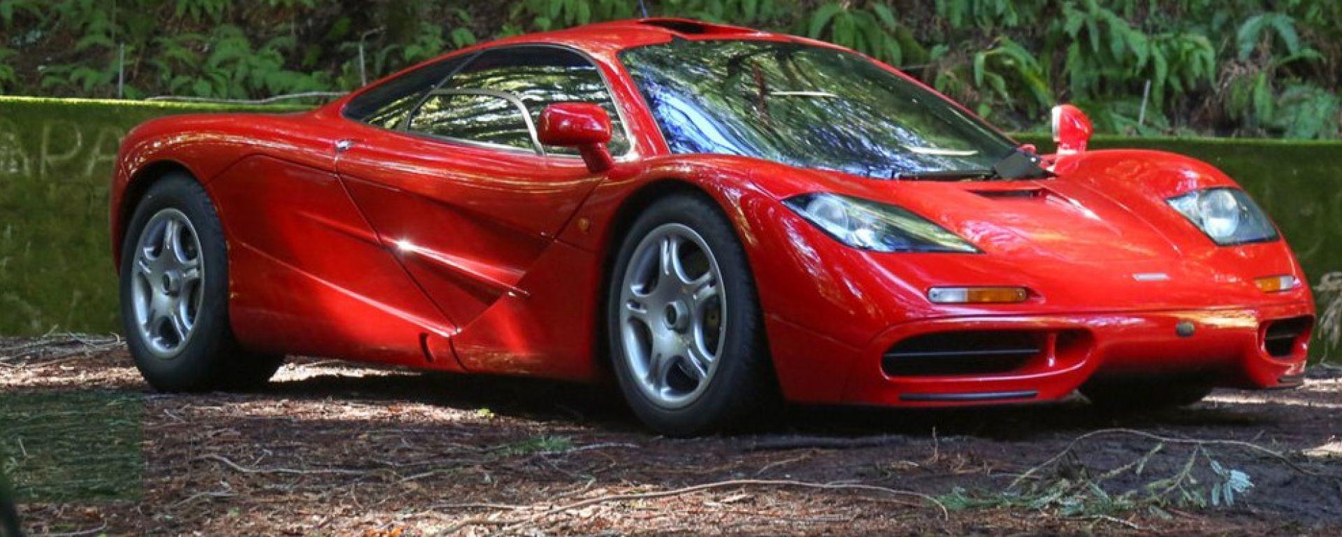 McLaren F1: 3/4 anteriore