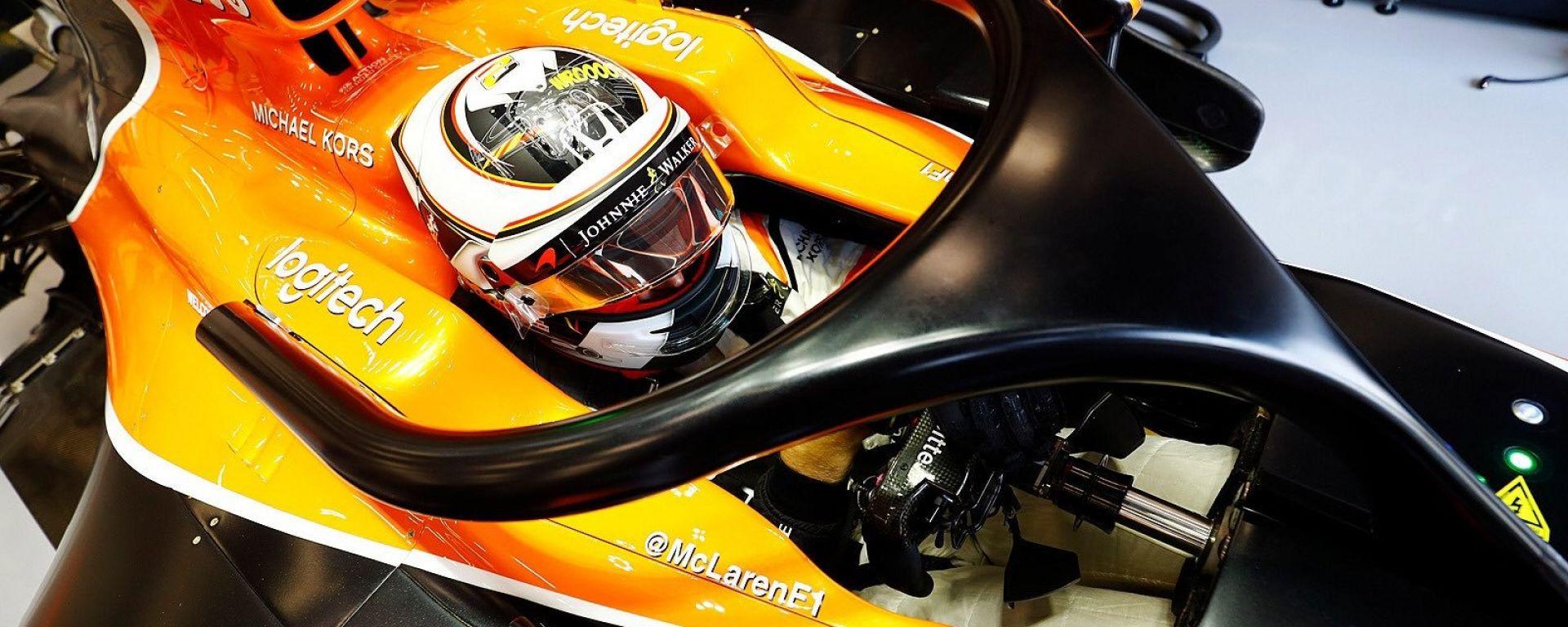 McLaren F1 Halo