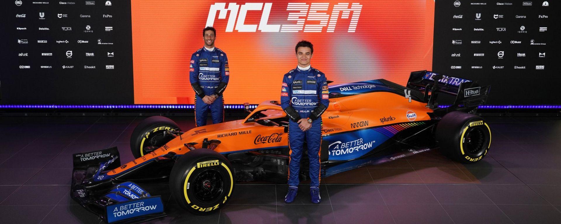 McLaren F1 Team MCL35M - Lando Norris, Daniel Ricciardo