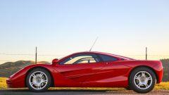 McLaren F1: vista laterale