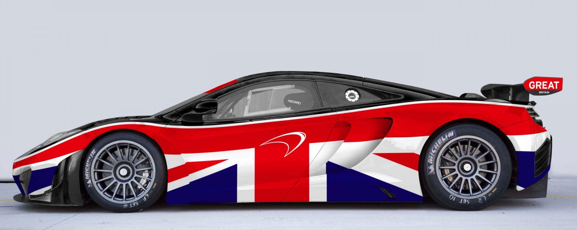 McLaren GREAT 12C GT3