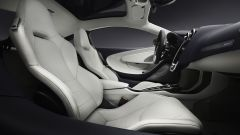 McLaren GT interni e i sedili