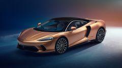 McLaren GT, vista 3/4 anteriore