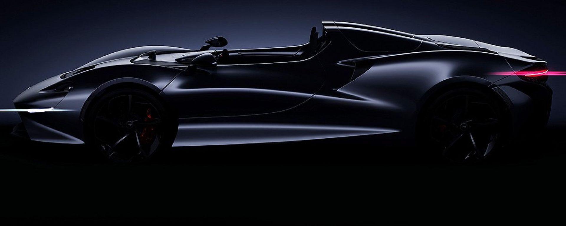 McLaren: in arrivo una spider ancora senza nome