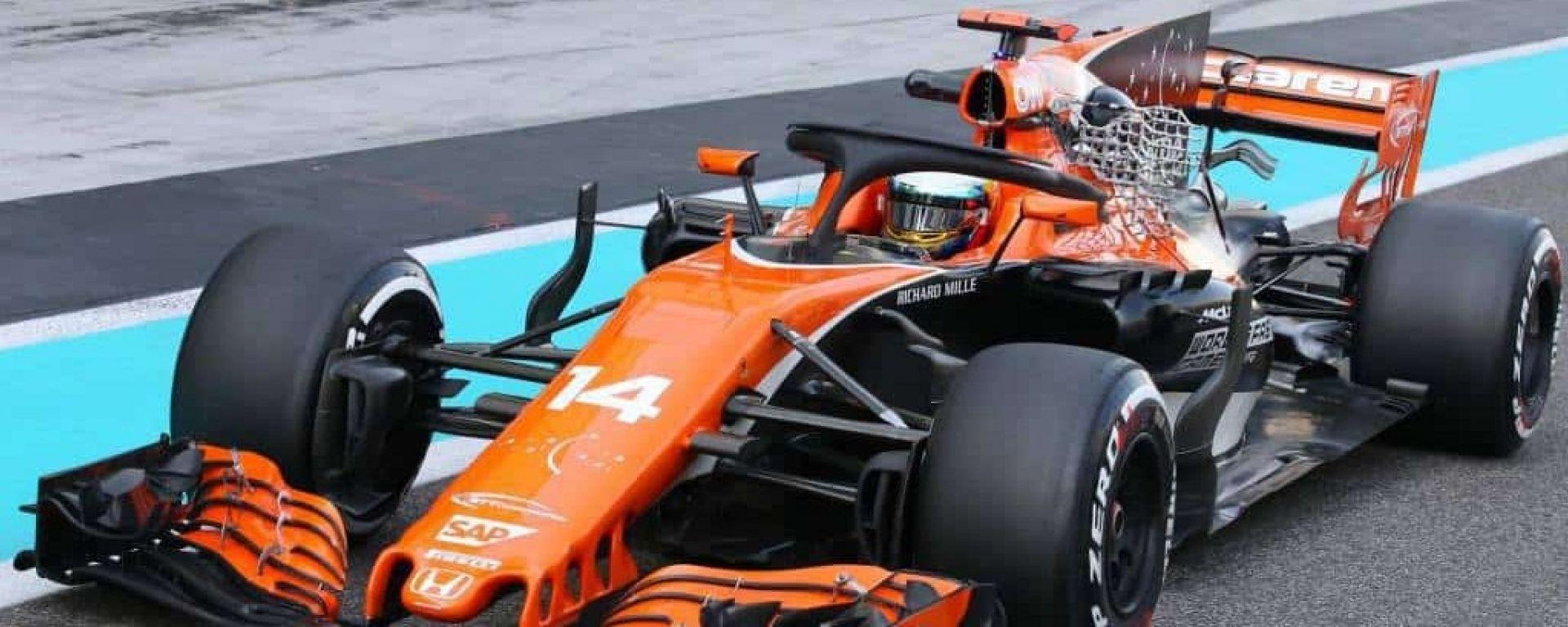 McLaren MCL32 con Halo