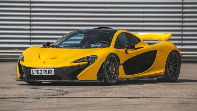 McLaren P1: 3/4 anteriore