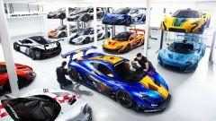 McLaren P1 GTR: un garage da sogno - Immagine: 1