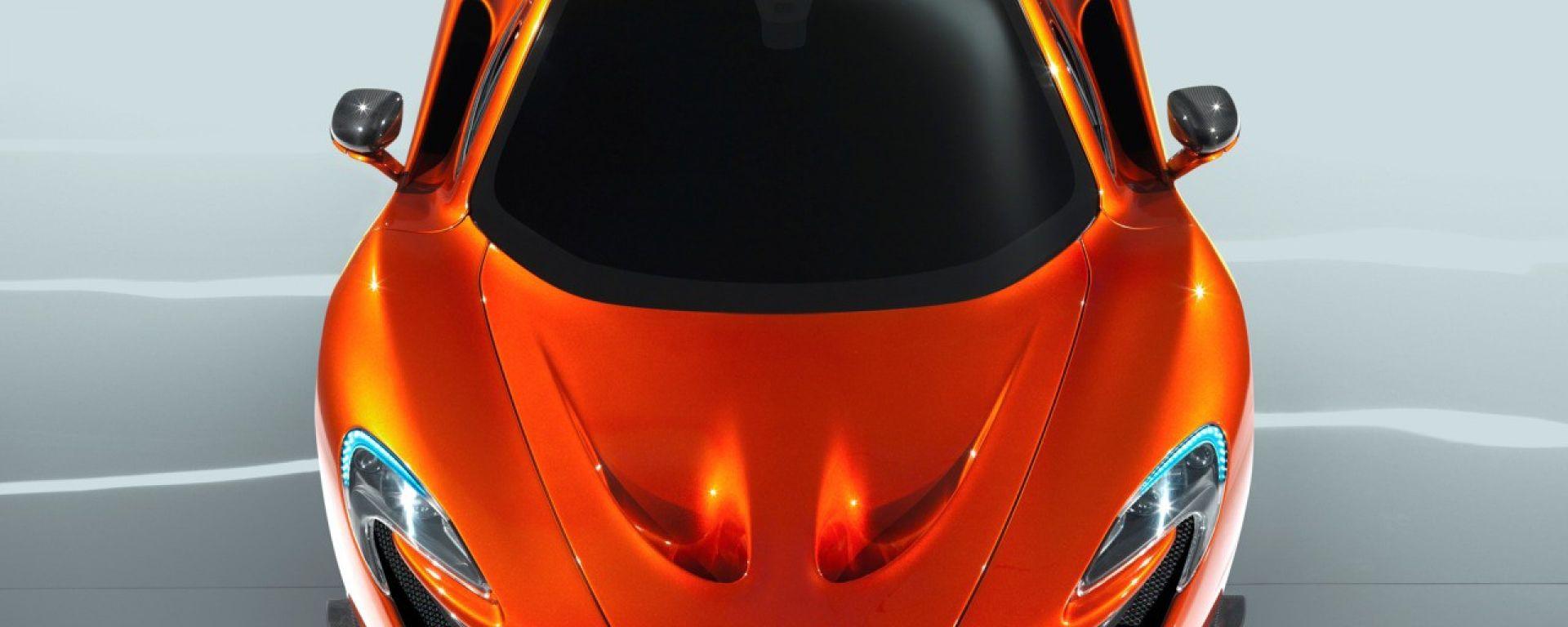 McLaren P1, nuove immagini ufficiali