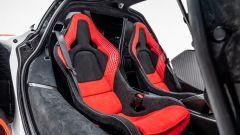 McLaren Sabre, interni: l'abitacolo della nuova supercar